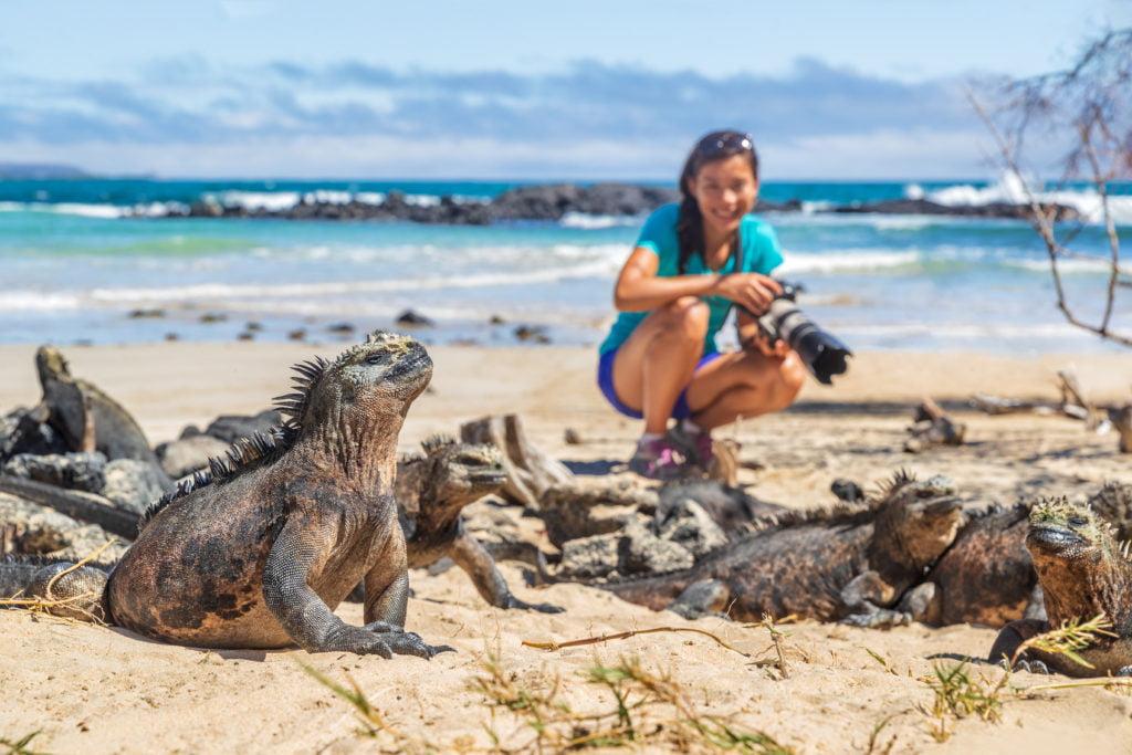 Walking tour in Galapagos Islands