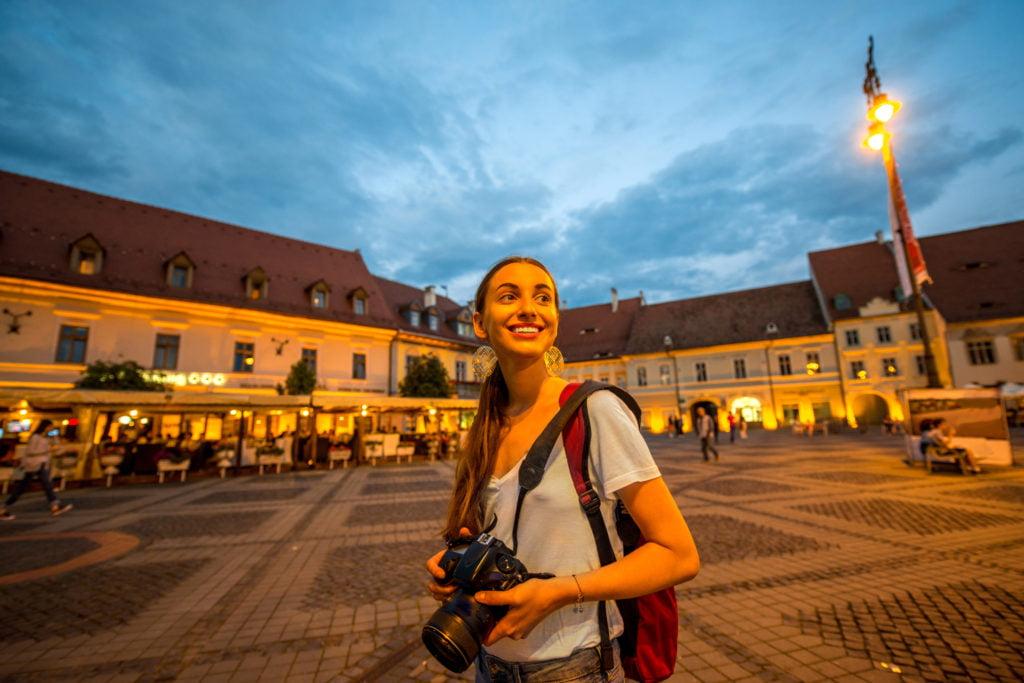 Walking tour in Sibiu